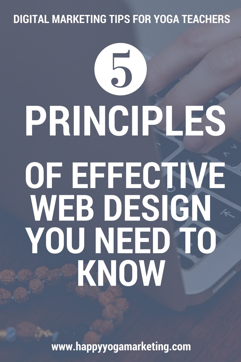 5 Principles of effective web design you need to know