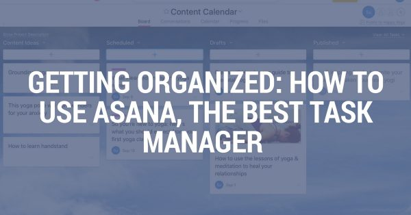 Organize your yoga business: How to use Asana, the best task manager