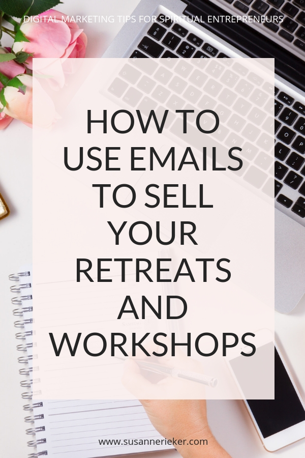 HOW TO USE YOUR MAILING LIST AND CONVERTKIT TO SELL YOUR YOGA RETREATS