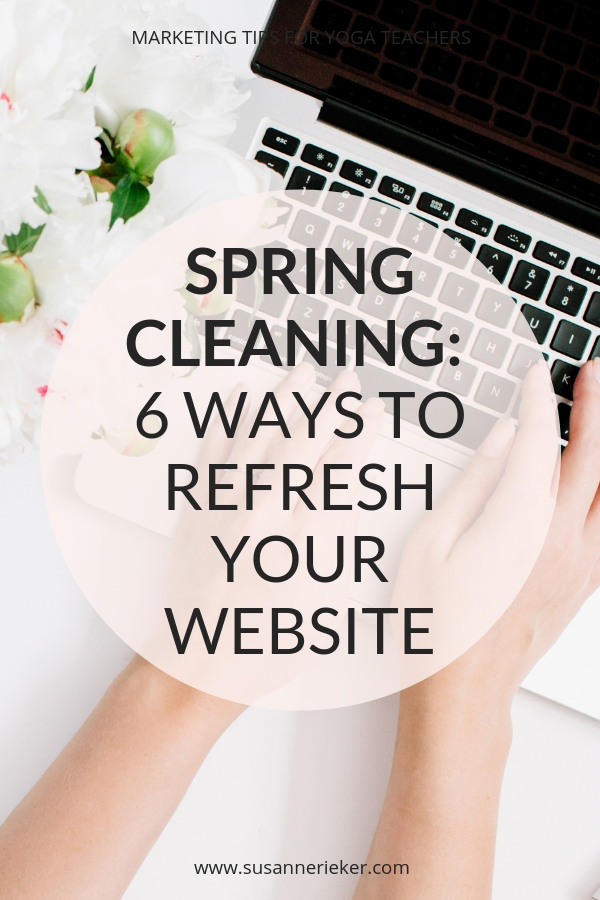 Six ways to refresh your website