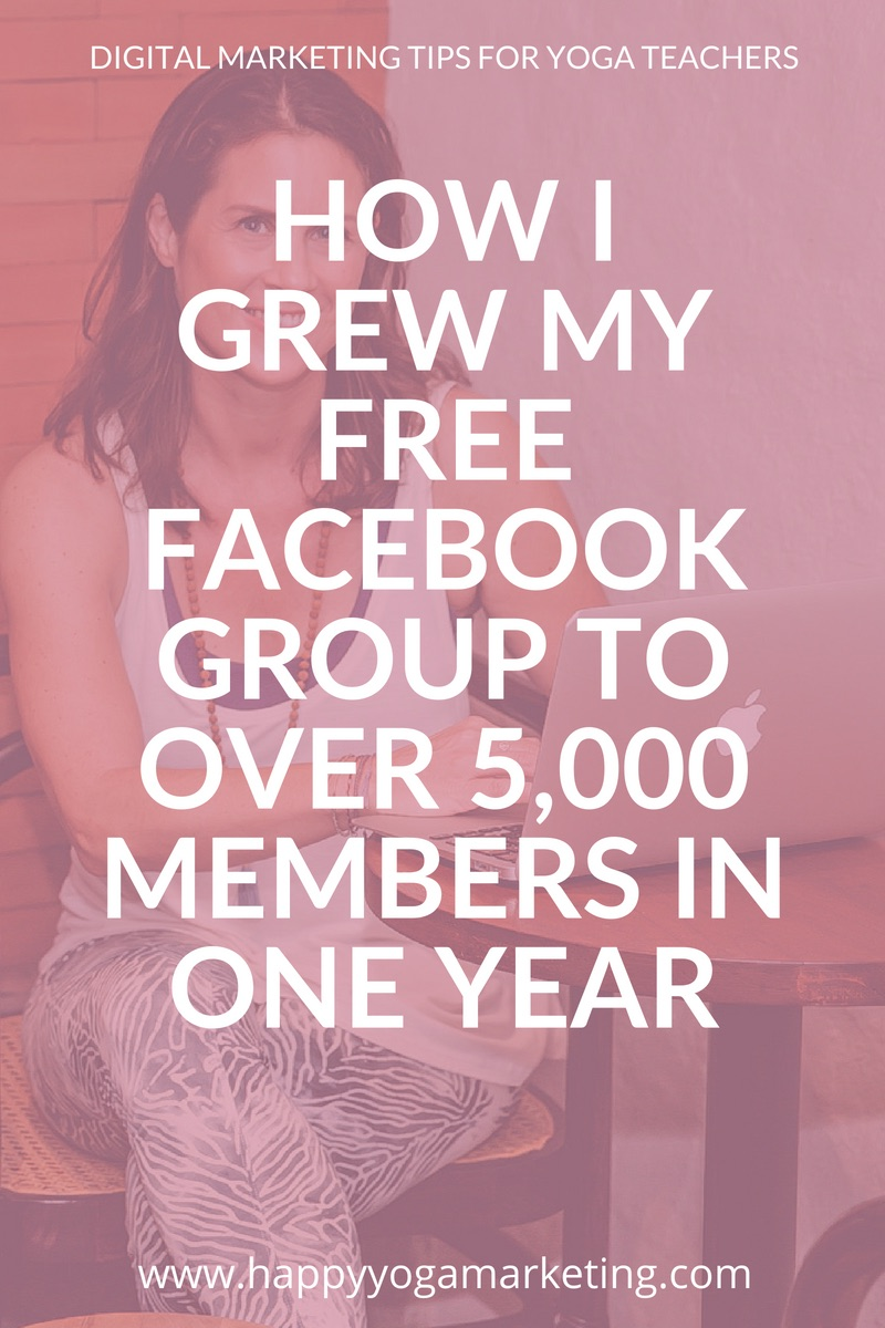 How I Grew my Free Facebook Group to Over 5,000 Members in One Year
