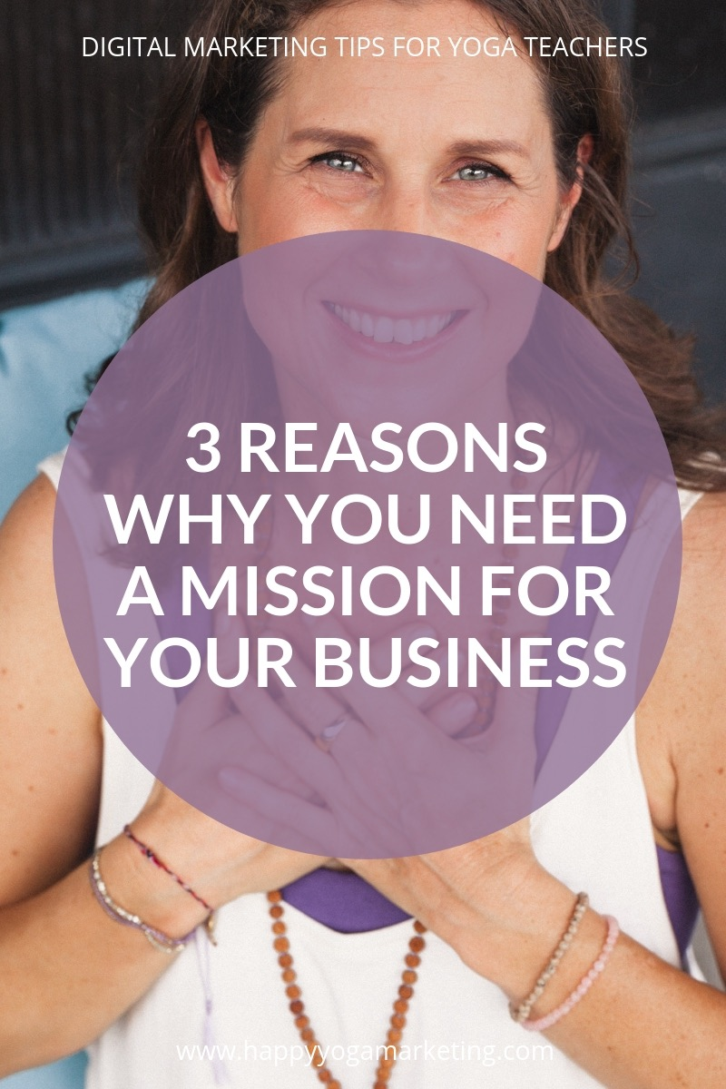 3 Reasons why you need a mission for your business