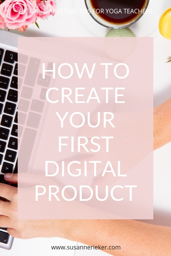 How to create your first digital product