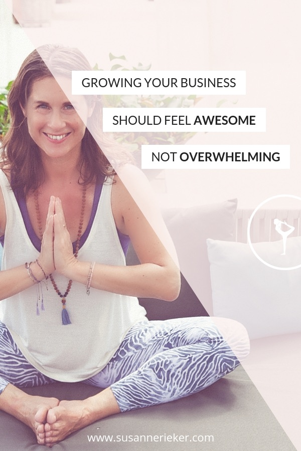 I teach yoga teachers & spiritual entrepreneurs how to build a successful online business. Take action now and up your digital marketing dharma!
