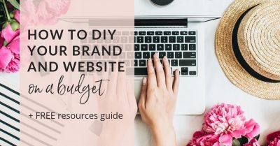 How to DIY your brand and website on a budget