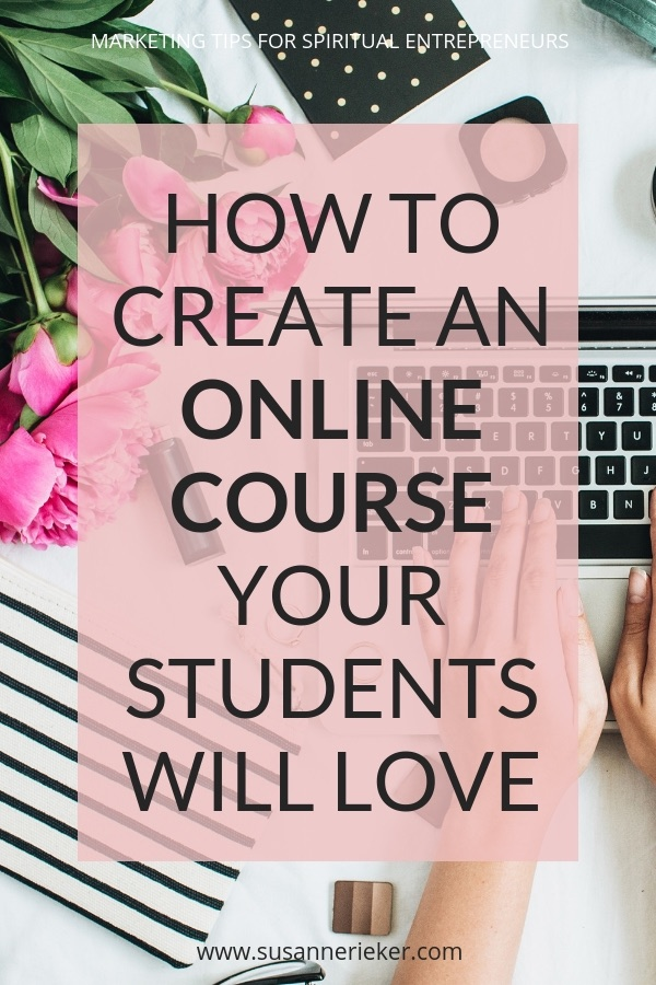 How to create an online course your students will love