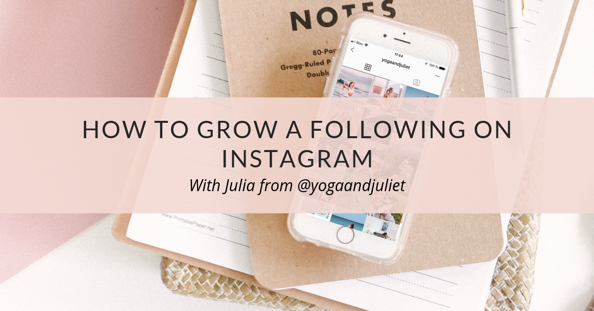 How to grow a following on Instagram