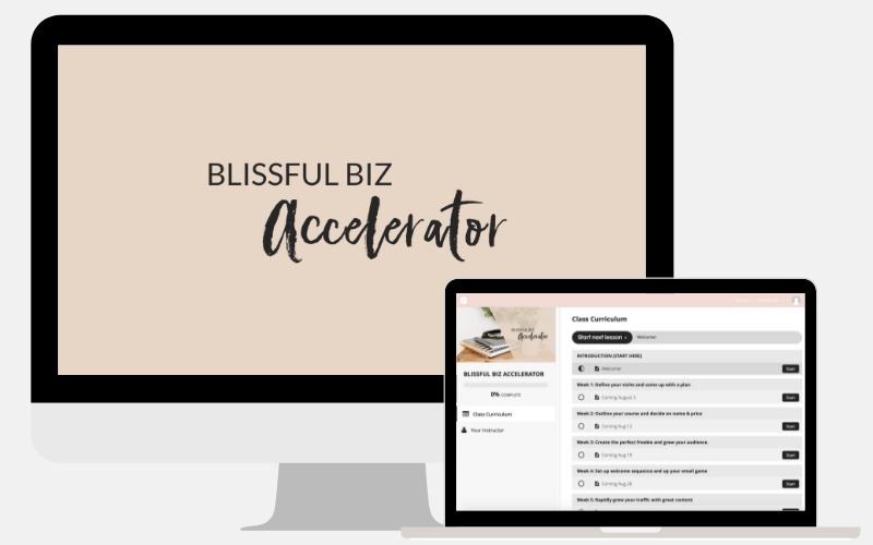 Blissful Biz Accelerator