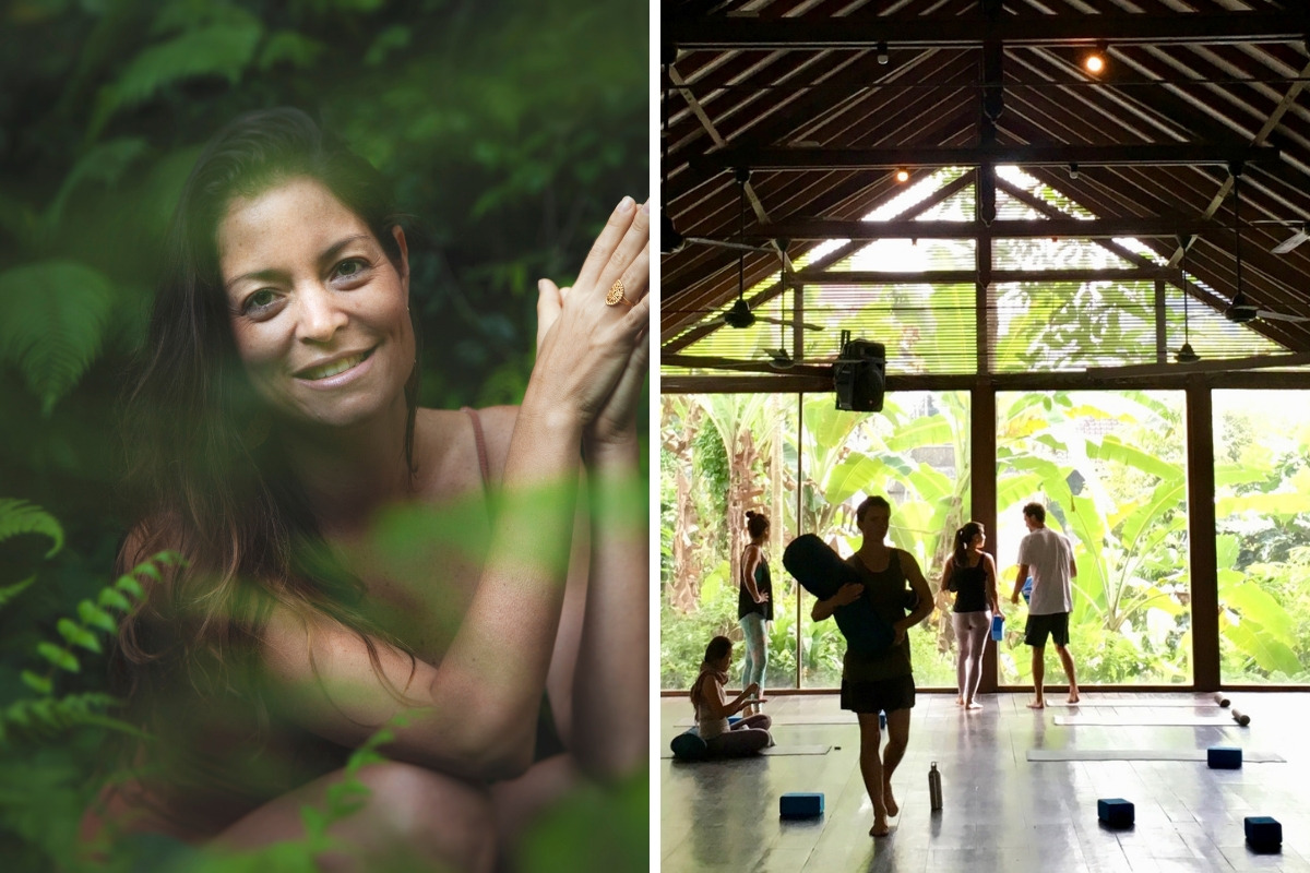 Radiantly Alive yoga studio in Bali