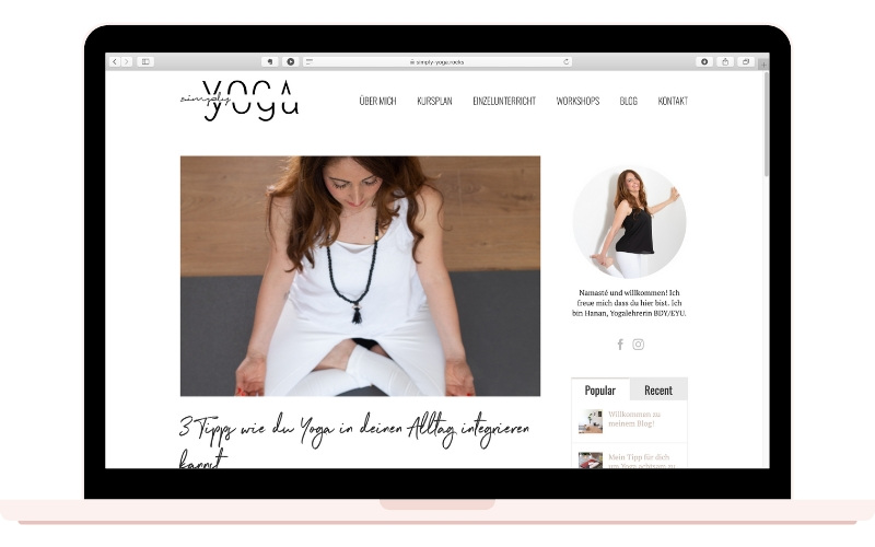 10 Tips to Create Your Epic Yoga Website Blog