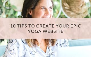 10 Tips to Create Your Epic Yoga Website