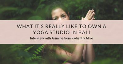What it's really like to own a yoga studio in Bali