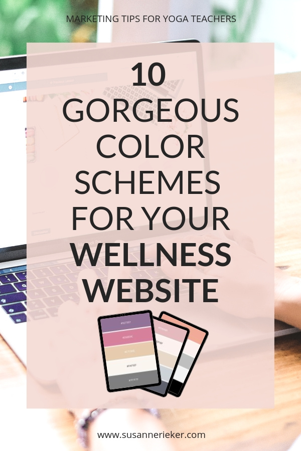 10 Gorgeous Color Schemes for Your Wellness or Yoga Website