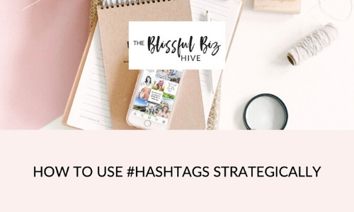How to use Hashtags strategically