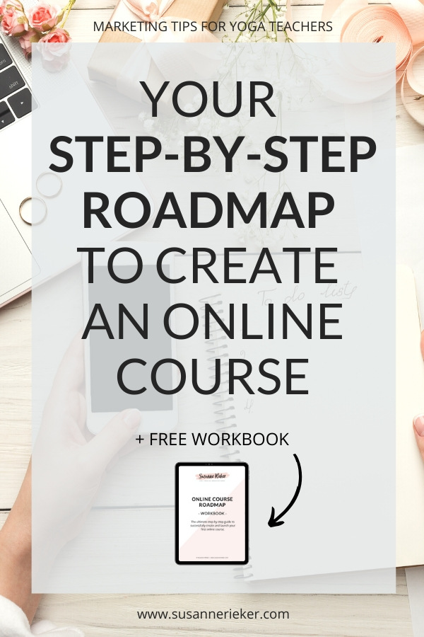 Roadmap to create an online course