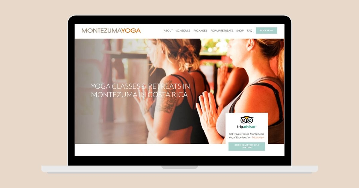 Website Design Montezuma Yoga