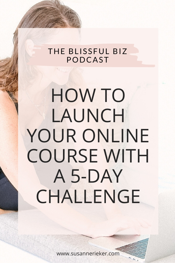 How to Launch Your Online Course with a 5-Day Challenge