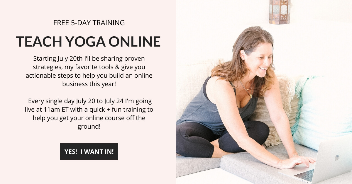 Teach Yoga Online Training