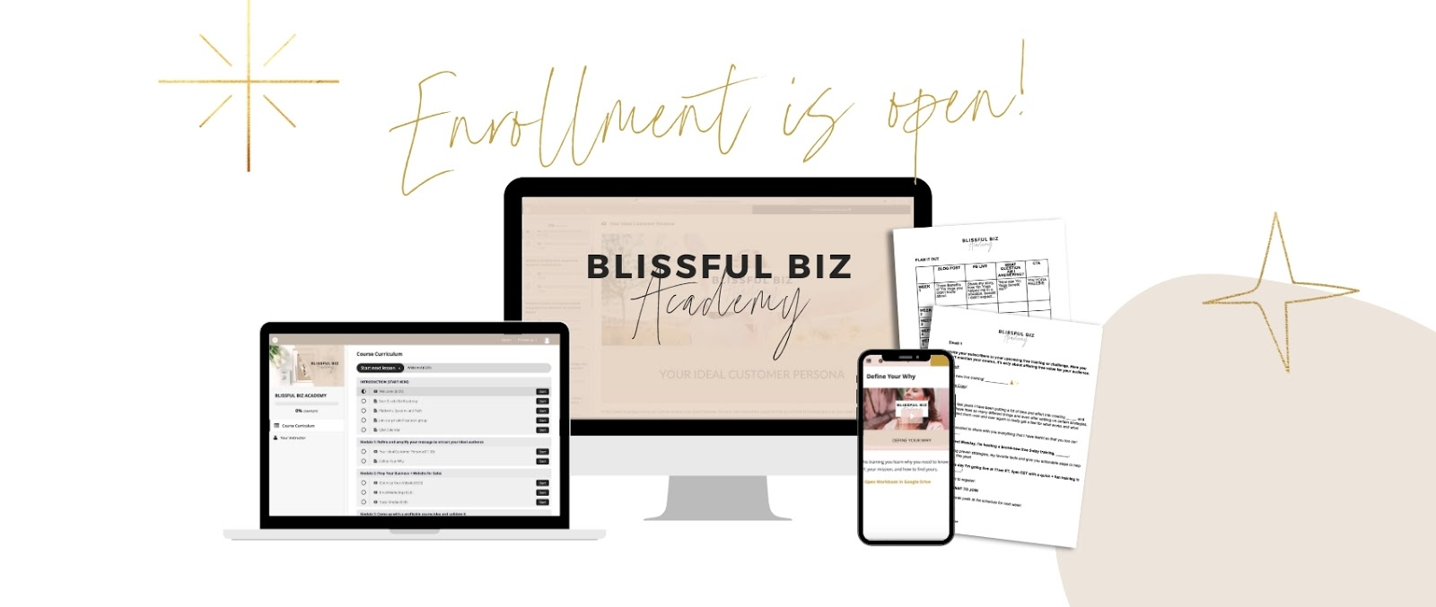 Blissful Biz Academy Doors Are Open