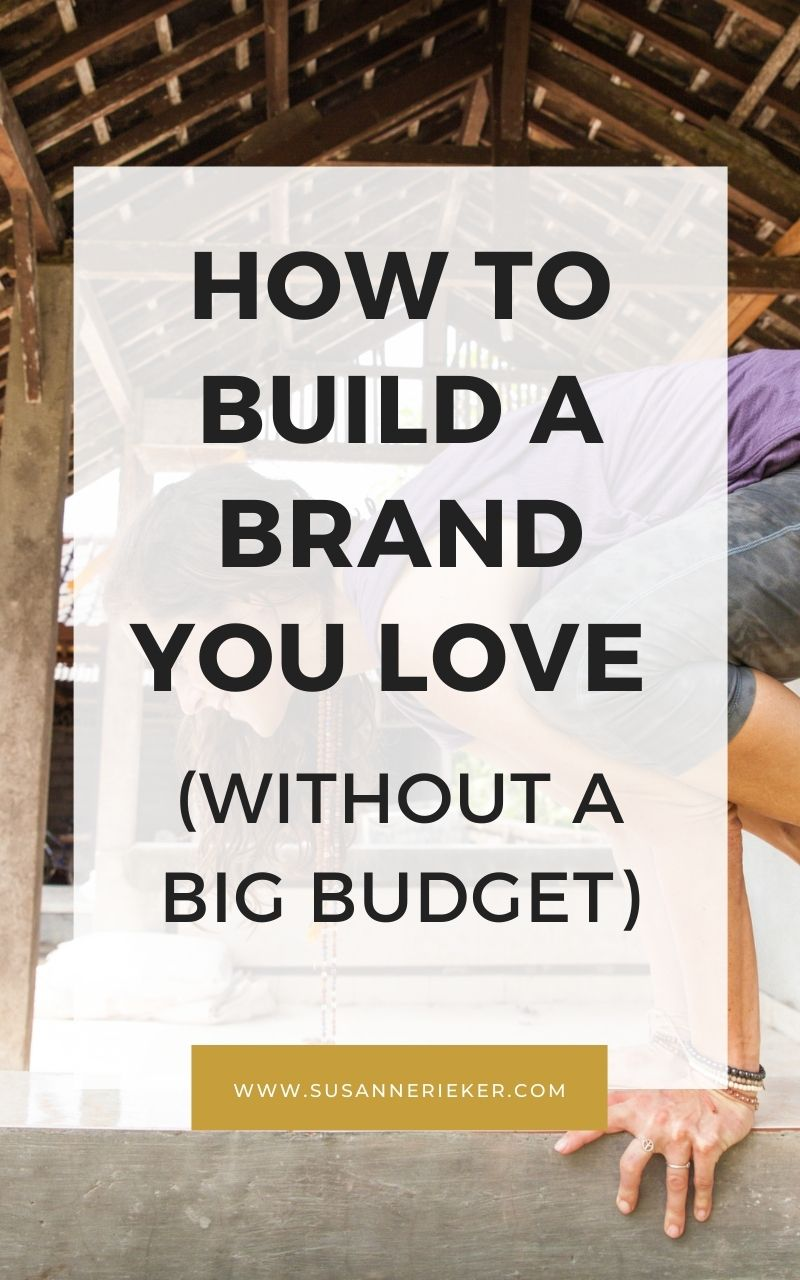 Blissful Biz Podcast | How To Build A Brand You Love (Without A Big Budget)