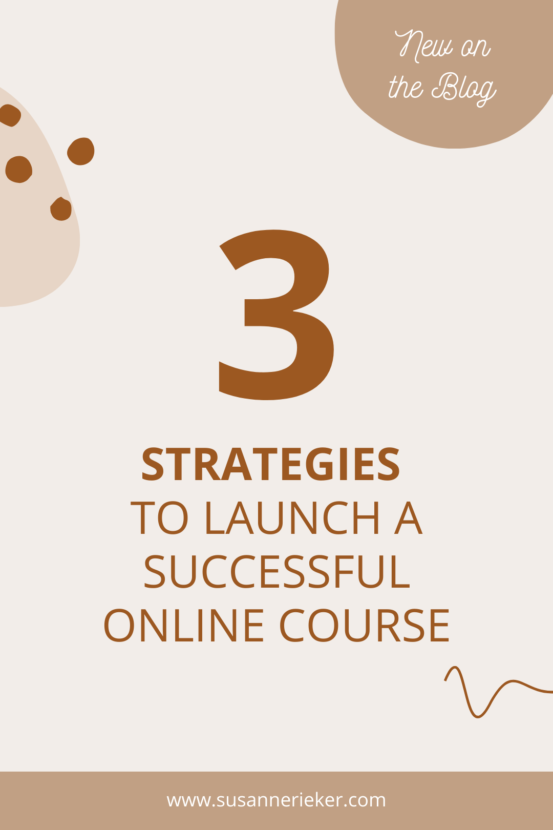 3 Strategies to launch a successful online course